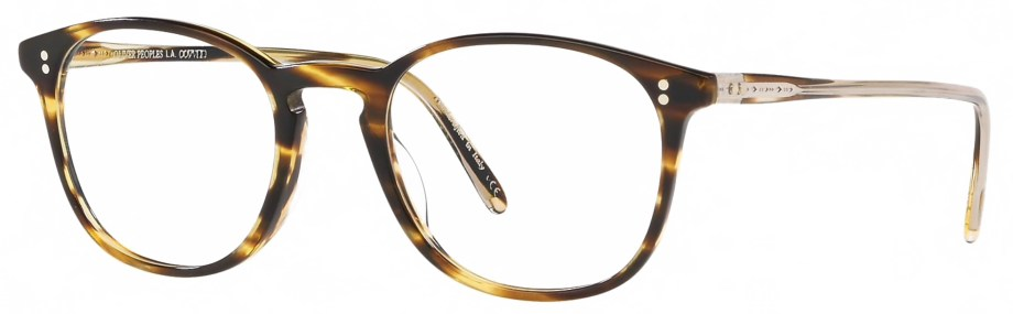 Optical Oliver Peoples FINLEY VINTAGE – Cocobolo 3_4 side