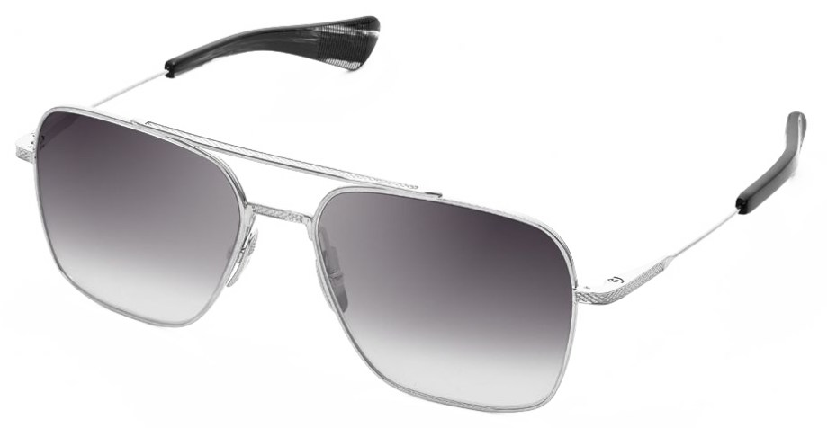 Sunglasses Dita FLIGHT – SEVEN – Black Palladium – Grey Gradient side