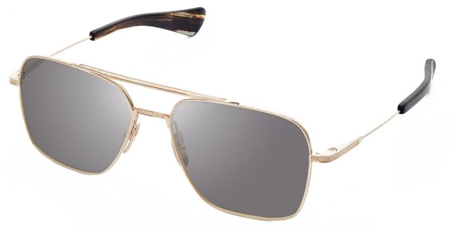 Sunglasses Dita FLIGHT-SEVEN – White Gold – Grey side