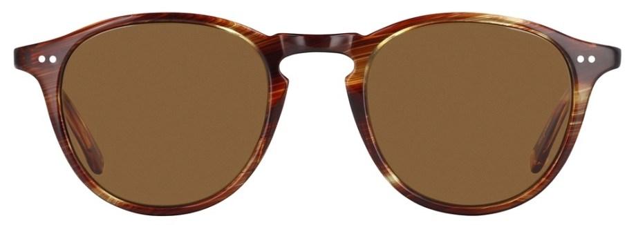 Sunglasses Garrett Leight HAMPTON Chestnut Hampton_46_Chestnut-Barley_Polar_2001-46-CN-BA_PLR_1296x