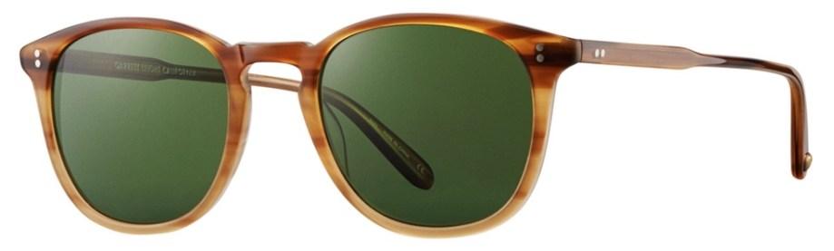 Sunglasses Garrett Leight KINNEY Blonde Tortoise Kinney_49_Blonde_Tortoise_Fade-Pure_Green_2007-49-BTF_PGN-2_1296x