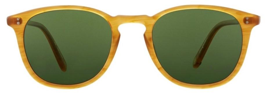 Sunglasses Garrett Leight KINNEY Butterscotch Kinney_47_Butterscotch-Pure_Green-2007-47-BT-PGNv1_copy_1296x