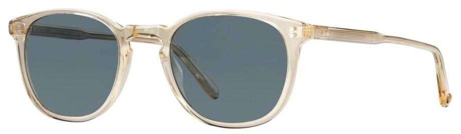 Sunglasses Garrett Leight KINNEY Champagne Kinney_49_Champagne-Blue_Smoke_Polar-2007-49-CH-BS_PLRv2_1296x