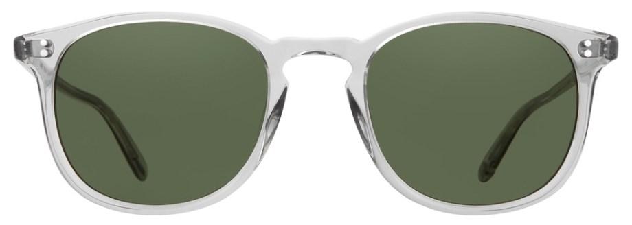 Sunglasses Garrett Leight KINNEY LLG Kinney-49-LLG-Semi-Flat-Pure-G15_2007-49-LLG-SFPG15_v1_1296x