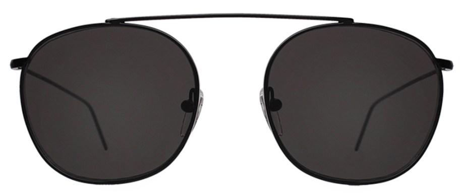 SunglassesIllesteva MYKONOS II – Black : Grey Flat