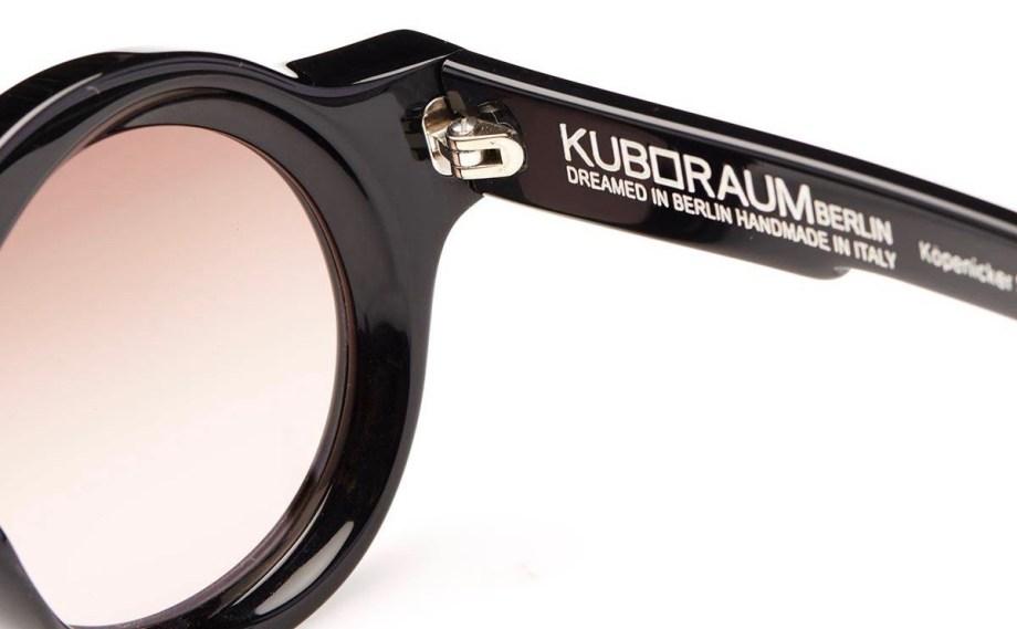 SunglassesKuboraum A1 Black Shine – BS zoom