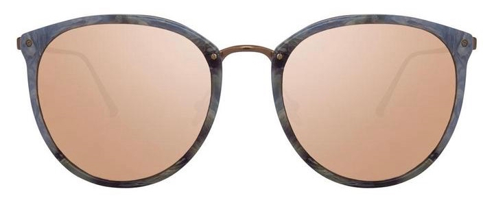 SunglassesLinda Farrow CALTHORPE C52 – Marbre