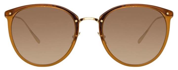 SunglassesLinda Farrow CALTHORPE C75 – Brown