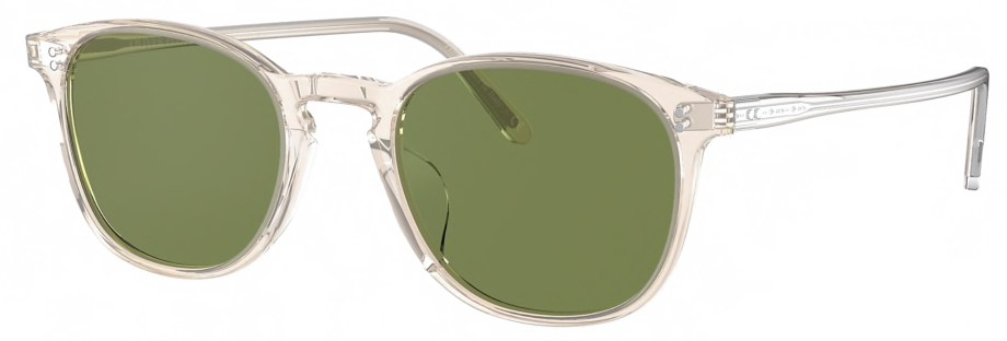 Sunglasses Oliver Peoples FINLEY VINTAGE – Buff _ Green C 3_4 side