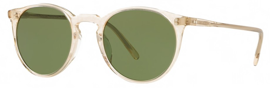 Sunglasses Oliver Peoples O'MALLEY – Buff – Green C 3_4 side