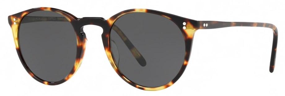 Sunglasses Oliver Peoples O'MALLEY – Vintage Dtb – Dark Grey Polar 3_4 side