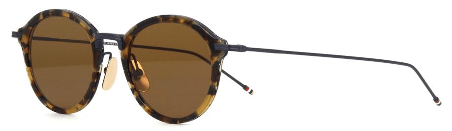 Thom browne tbs908 02 tokyo tortoise sunglasses 3:4 side