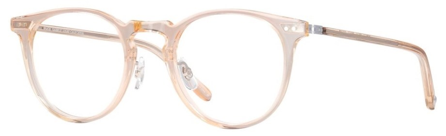 garrett leight Ocean_46_Pink_Crystal-Rose_Gold side