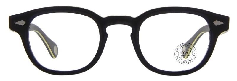 lunettes-de-vue-moscot-lemtosh matte black yellow