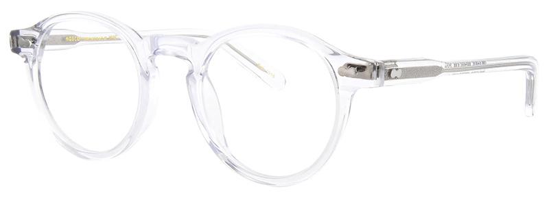 lunettes-de-vue-moscot- miltzen crystal 3_4 side