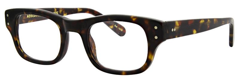 lunettes-de-vue-moscot- nebb tortoise side