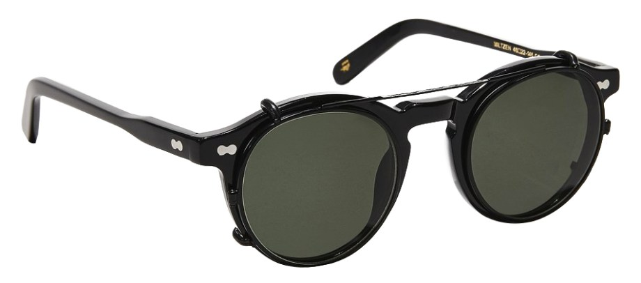 moscot clipzen matte black side