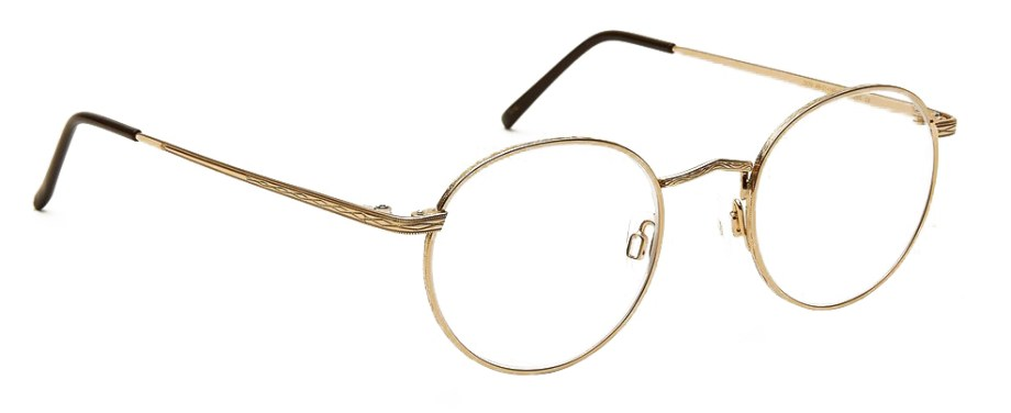 moscot dov gold side