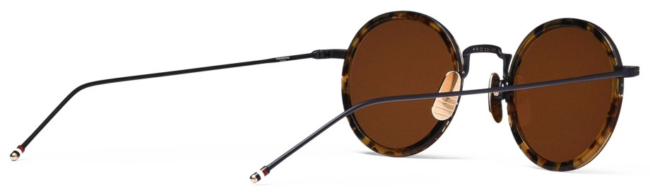 thom browne tb906 tortoise sunglasses back