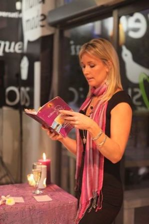 Sharni reads snippets from her book 'Follow the Sun'