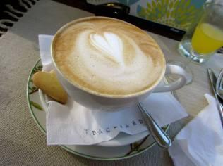 The Backyard Cafe cappaccino love