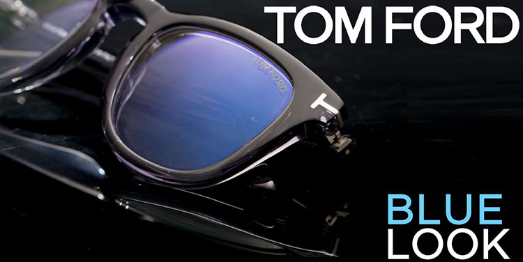 Tom Ford Eyewear presenteert zijn Blue Look collectie