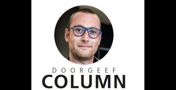 Doorgeef column Kevin Marin, opticien bij Mr. Boo