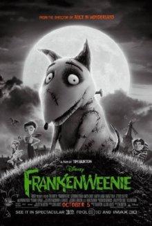 Frankenweenie Halloween movies