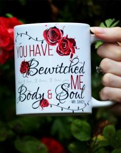 Pride & Prejudice mug Mr. Darcy bookih gifts