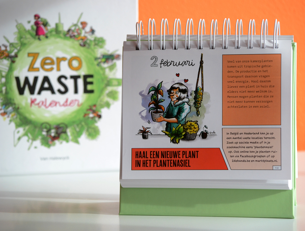 Zero Waste Kalender voorbeeld