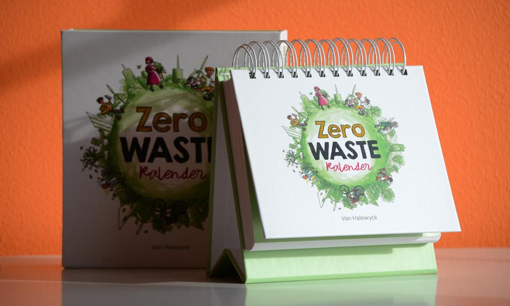 Zero Waste Kalender van Veerle Colle
