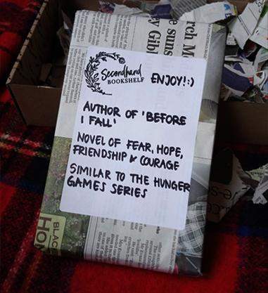 Blind Date met een boek Secondhand Bookshelf