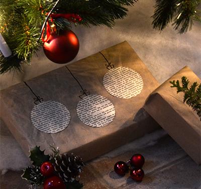 Kerst cadeaus inpakken
