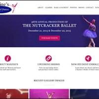 Maxine's Studio of Dance Wordpress Website - Vineland, New Jersey