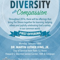 Diversity With Compassion - Flyer Design Template