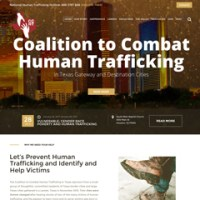 Coalition to Combat Human Trafficking in Texas - Human Trafficking Site