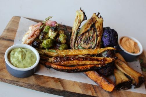 Slide 1 True Food Kitchen Roasted Seasonal Vegetable Board2 copy
