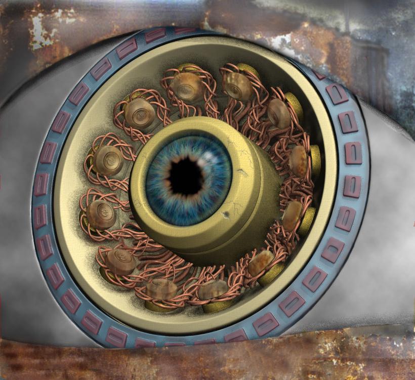 another machine eye