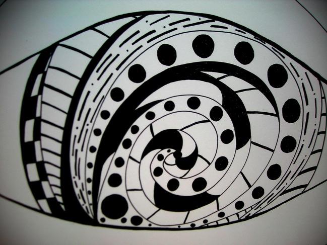eye drawing # 561