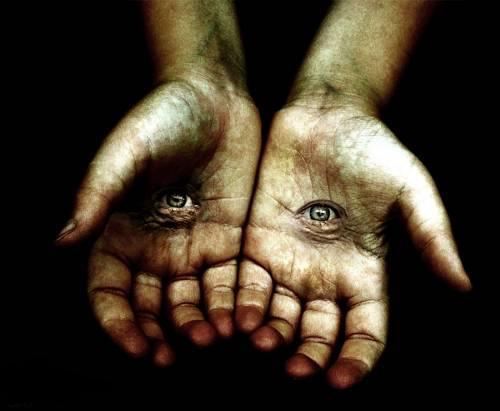 palms & eyes