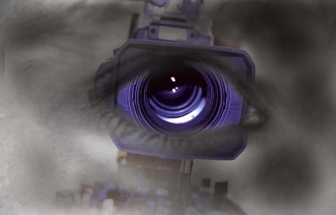 eye of lens