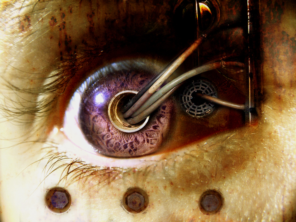 Robot eye by crazy winged wolf