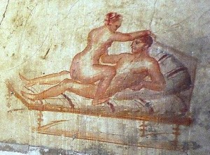 pompeii wall painting - Why is it always about money?