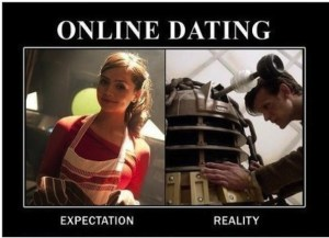 Online Dating Expectation Vs Reality 300x217 - Back to Basics : Profile Pitfalls