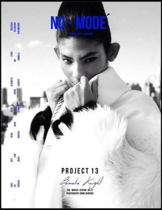 Nu-Mode Magazine- WInter Edition Cover. Jonne Johnson Photography