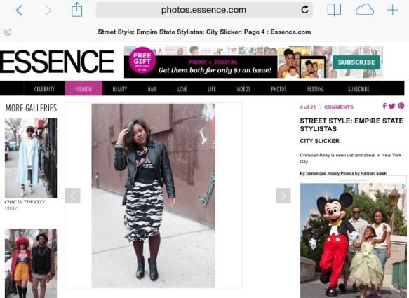 "Essence ""Empire State Stylistas"""