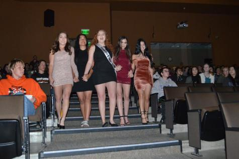 Junior Prom royalty takes stage in Patti Baker Theater