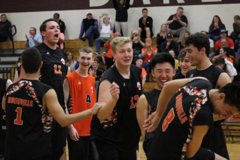 VOLLEYBALL: Tigers finally clinch section title