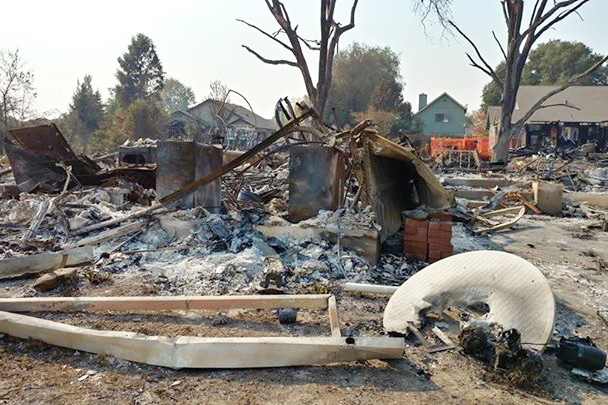 Fires in northern California continue, RHS science teacher Erin Granucci and medical club help