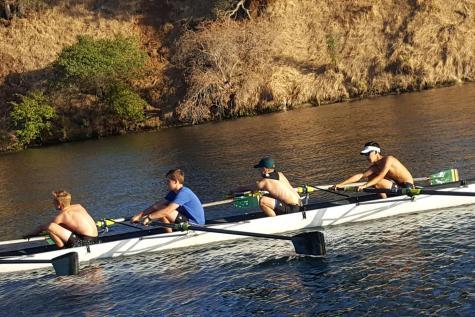 Injured athletes turn to rowing